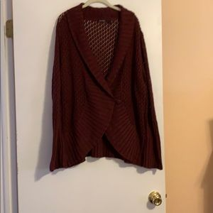 One button closure Cardigan Sweater